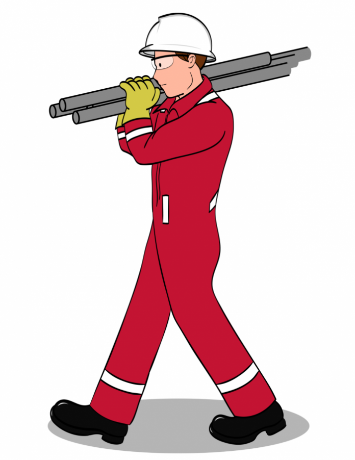 material handling safety graphic