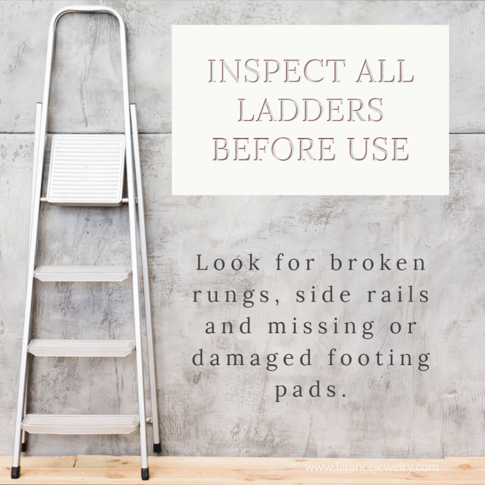 Inspect Ladders Before Use
