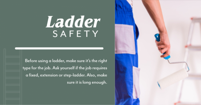 Use the Right Ladder for the Job