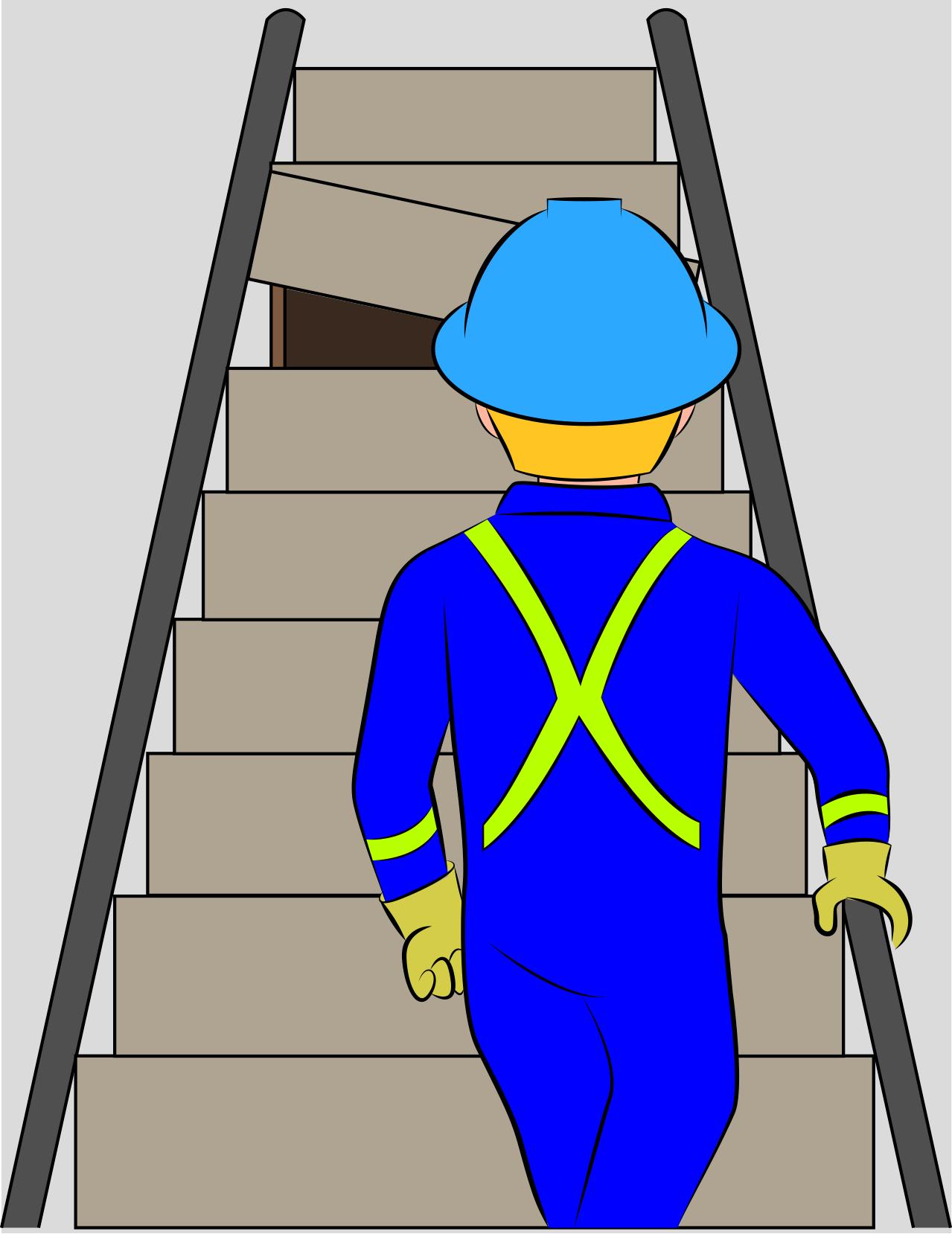 Broken Stairs Hazard